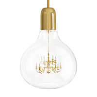 King Edison Pendant Lamp Gold by Mineheart