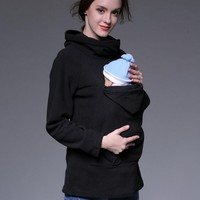 Maternity Kangaroo Hooded Baby Carriers