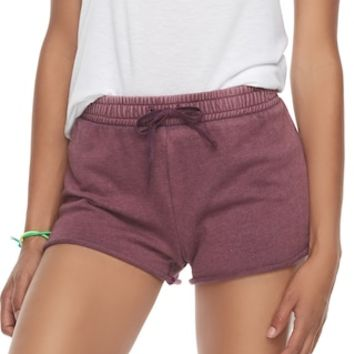 Juniors' SO® Tie Waist French Terry Shorts   null