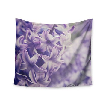 "Angie Turner ""Lavender Dreams"" Purple Lilac Wall Tapestry"