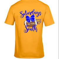 West Virginia Moutaineers Gameday shirt - Saturdays in the South