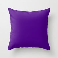 Indigo Throw Pillow by Beautiful Homes