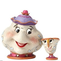Heartwood Creek Disney Traditions Mrs. Potts and Chip Figure