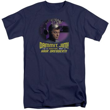 Star Trek - Not A Hair Dresser Short Sleeve Adult Tall