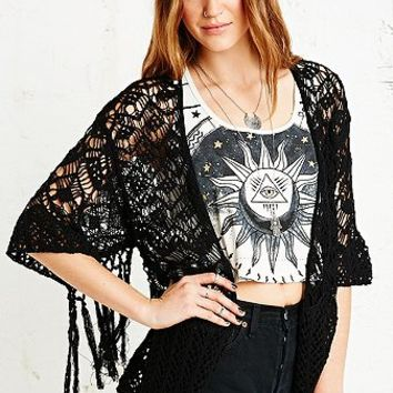 Staring at Stars Knitted Kimono Cardigan - Urban Outfitters