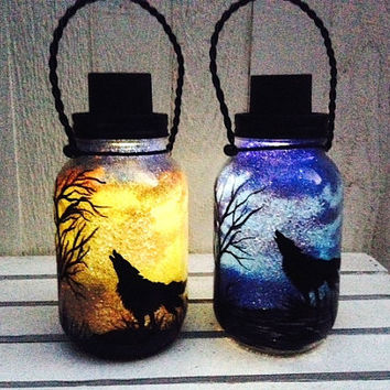 Mason Jar Outdoor Lights Shop mason jar lights outdoor on wanelo day or night wolf in the desert mason jar light outdoor solar light workwithnaturefo