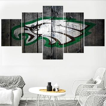 Animal Philadelphia Eagles Logo Paintings Wall Art Home Decor Picture Canvas Painting Calligraphy For Living Room Bedroom