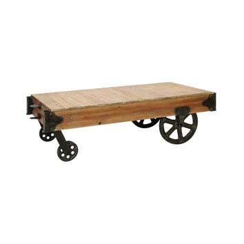 Off to Market Cart Coffee Table