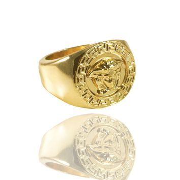Medusa Ring x Gold