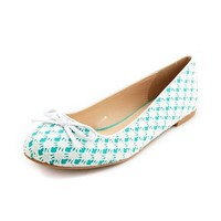 Bow Front Lace Ballet Flat: Charlotte Russe
