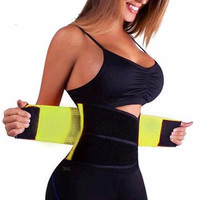 Women's Men Sliming Belt Waist Trainer Wear Corset Burning Bodyshaper Modeling Strap Ladies Cinchers