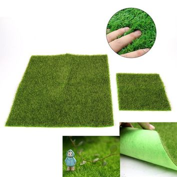 Fake Moss Mini Garden Ornament DIY Lawn