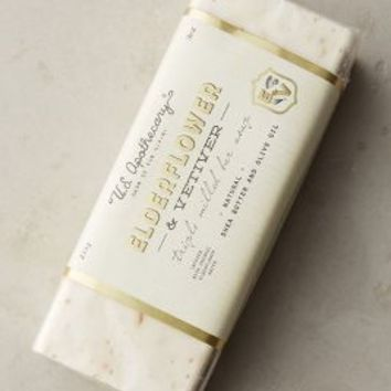 U.S. Apothecary Elderflower & Vetiver Bar Soap in Bar Soap Size: One Size Bath & Body
