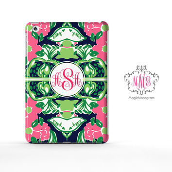 Tiger Lilly Pulitzer Monogram iPad Air Case, iPad Mini Case