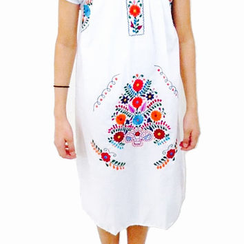 Cisnes Beautiful Mexican Dress for Girl