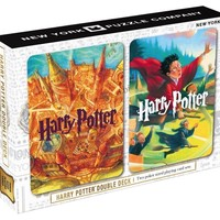 New York Puzzle Company - Harry Potter Double Deck Cards
