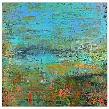 Pre-owned Original Abstract Painting by Alicia Dunn