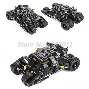 Batman Dark Knight gift Christmas KAZI Building Blocks Decool Batman Bat Tank Batmobile Car Tumbler Batma The Batboat Harbor Pursuit Knight Bat-Pod Toys For Kids AT_71_6