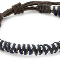 Nine West Vintage America Silver Ox Sodalite Friendship Bracelet - Like Love Buy