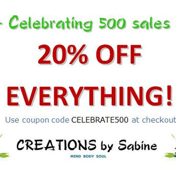 20% OFF EVERYTHING! Custom Orders Welcome! Calligraphy / Corn Pillows / Baby Sensory Toys / Sale / Discount / Celebrate / Coupon Code