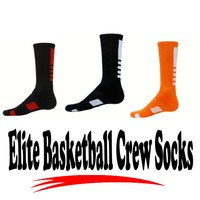 Elite Style Basketball Crew - The Legend Basketball Crew socks- Elite Style Football Crew Socks 12 Colors Youth and Adult Sizes