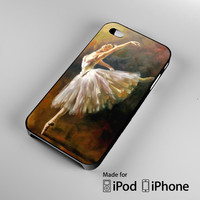 Ballet dancer painting iPhone 4S 5S 5C 6 6Plus, iPod 4 5, LG G2 G3, Sony Z2 Case