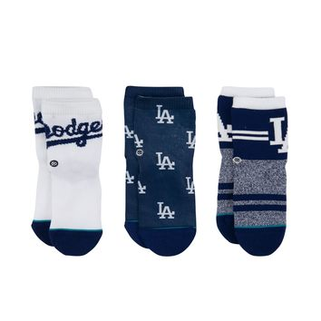 STANCE DODGERS BOX SET (2-4 YR) SOCKS