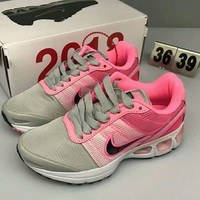 NIKE AIR MAX TURBULENCE new fashion men network air cushion sports shoe Pink Gray