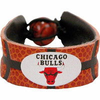 Chicago Bulls Classic Basketball Bracelet