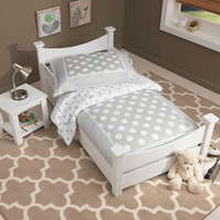KidKraft Addison Toddler Bed White - 76267