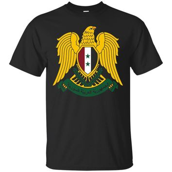 Syria Coat Of Arms Syrian Emblem Symbol T-Shirt