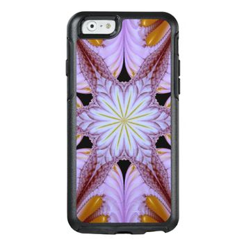elegant abstract flower OtterBox iPhone 6/6s case