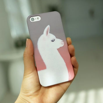 Cell Phone Case (milk your llamas) -IPHONE 6 Case