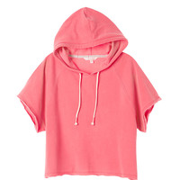 Short-sleeve Hoodie - Fleece - Victoria's Secret