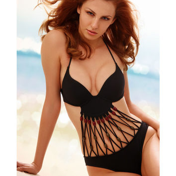 Summer Comfortable Sexy High Quality Ladies High Rise Swimwear [6048394177]