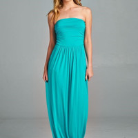 Simple and Stylish Maxi Dress - Jade