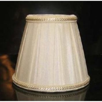 """34405 - Empire Clip-On Lamp Shades - 3"""" Top X 5"""" Bottom X 4 1/2"""" Height"""