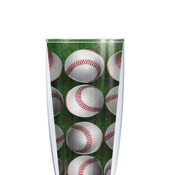 Sport (Football and Baseball) Tumbler -- Customize with your monogram or name!