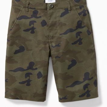 Built-In Flex Flat-Front Tech Shorts for Boys | Old Navy
