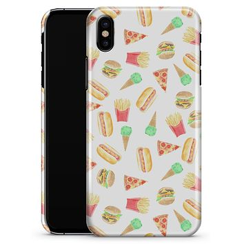 The Fun Fries,Pizza,Dogs, and Icecream - iPhone X Clipit Case