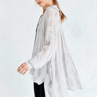 Kimchi Blue Clifton High/Low Tunic Blouse - Urban Outfitters