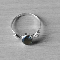 Classic Design Ring Labradorite Gemstone in Silver, Crystals,Bronze, Jewelry, Gift, Holiday,Handmade jewelry, Silver Ring, Free Shipping