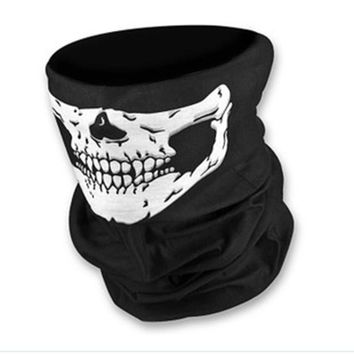 New Scarf Riding Bicycle Motorcycle Variety Turban Hood Magic Headband Veil Head Scarves Face Mesh Ski Sport Skull Bandanas