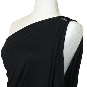 Onyx Black - NursElet® Nursing Scarf