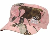 The Game's Women's Realtree Girl Military Camo Fashion Cap - AP Pink