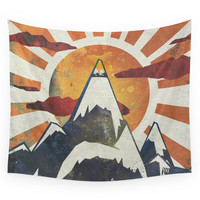 Society6 Mount Spitfire Wall Tapestry
