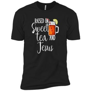 Raised On Sweet Tea And Jesus T Shirts shirt