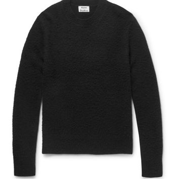 Acne Studios - Peele Boiled Wool and Cashmere-Blend Sweater