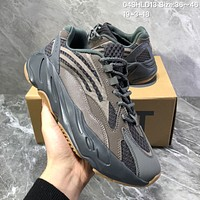 HCXX A954 Adidas Yeezy Boost 700 Mauve Retro Running Shoes Brown