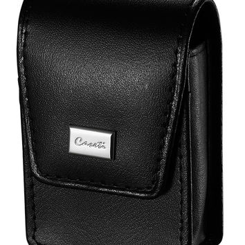 Caseti Americano Soft Black Leather Lighter Case